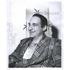 1964 Press Photo Sid Caesar American comic actor - RRW31279