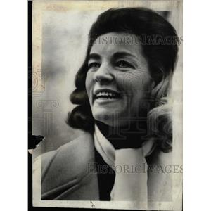 1968 Press Photo Lauren Bacall (Actress) - RRW82235