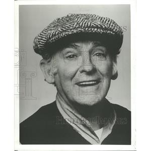 1980 Press Photo Bernard Hughes (Actor) - RRW30829