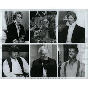 1980 Press Photo Beulah Land Miniseries Rudd McEachin - RRW00915