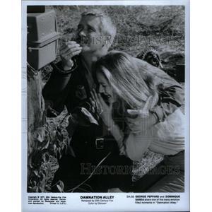1977 Press Photo Damnation Alley Film George Peppard - RRX36647