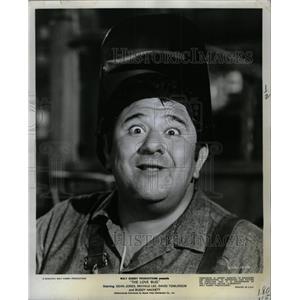 1969 Press Photo Buddy Hackett Comedian Actor Love Bug - RRX73147