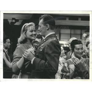 1963 Press Photo May Britt Swedish Actress - RRX98065