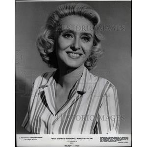 1965 Press Photo Actress Celeste Holm Disney Kilroy - RRW17393