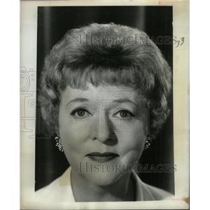 1969 Press Photo Jessie Royce Landis  American actress