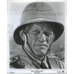 """1968 Press Photo Actor Harry Andrews """"The Long Duel"""" - RRW33511"""