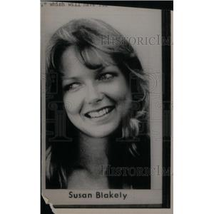 1976 Press Photo Susan Blakely America Film Play Role - RRX45585