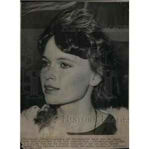 1968 Press Photo Longhair Mia Farrow Hairdo NY Boyish - RRX36331