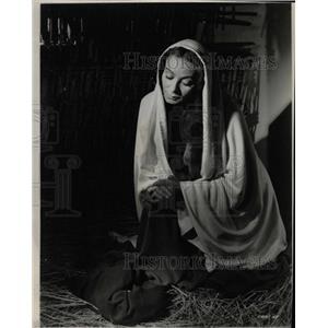 1962 Press Photo Siobhan McKenna Irish Film Actress - RRW13745
