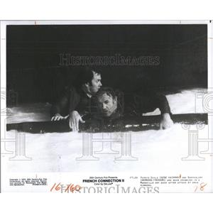 1975 Press Photo Gene Hackman Bernard Fresson Actor - RRX99763