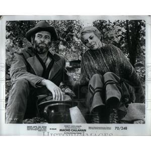 "1970 Press Photo Jean Seberg in ""Macho Callahan - RRX54091"