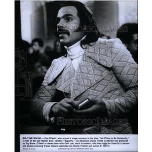 1975 Press Photo Ron O'Neal Actor Director Screenwriter - RRX60405
