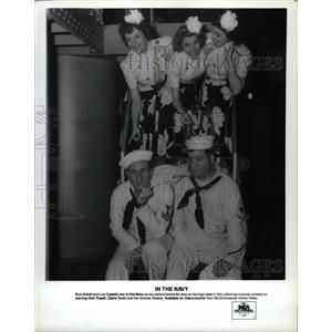 Press Photo Bud Abbott & Lou Costello In The Navy - RRW21807