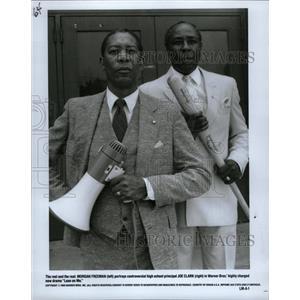 1989 Press Photo Morgan Freeman American Actor. - RRW16179