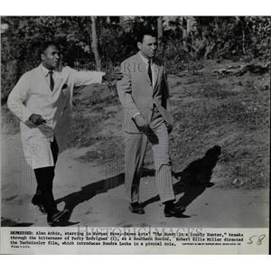 1968 Press Photo Arkin Percy Rodrigues Heart Hunter - RRW84541