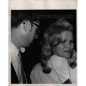 1968 Press Photo Eileen Brennan Actress - RRW18773