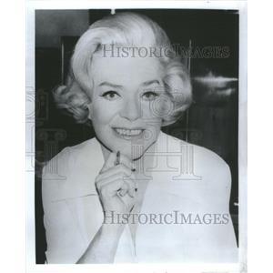 1984 Press Photo Alice Faye American Actress Singer - RSC24803