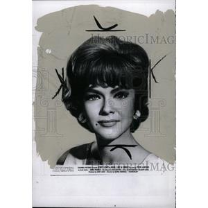 1969 Press Photo Actress Anne Francis Hook Line Sinker - RRW76689