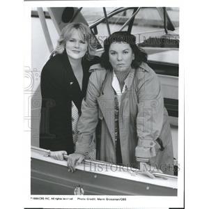 1995 Press Photo Actresses Tyne Daly & Sharon Glees - RRW33783