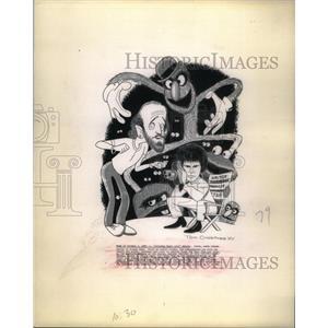 1975 Press Photo George Carlin Comedian Social Critic - RRX57203