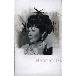 1967 Press Photo Lynn Bari (Movie Actress) - RRW96065