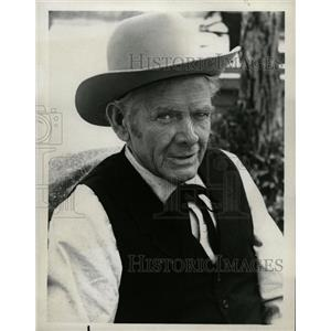 1968 Press Photo Actor Charles Bickford - RRW20271