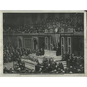 1924 Press Photo President Woodrow Wilson Germany War - RRX83051