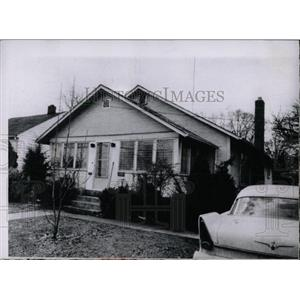 1959 Press Photo Randall S Harmon's front porch office - RRW70387