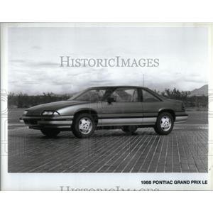 1988 Press Photo Pontiac Grand Prix Le - RRX55051