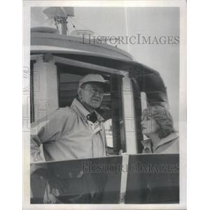 1979 Press Photo John Wayne Barbara Walters Television Host Actor - RSC79567