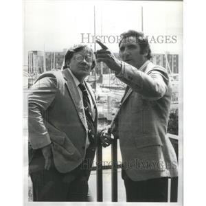 1977 Press Photo Delvecchio Judd Hirsch Charles Haid CBS - RSC77639