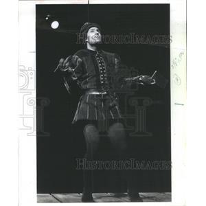 1977 Press Photo Norman Snow as Richard Duke Glouceste Shakespeare's Richard III