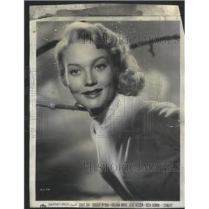 1951 Press Photo Star from Warner Bros. Starlift. - RSC70891