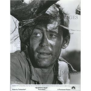 1971 Press Photo Peter O'Toole Murphy's War Film Actor - RSC74071