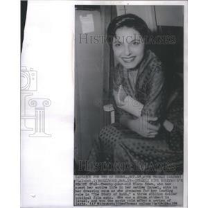 1959 Press Photo Elana Eden Actress - RSC82971
