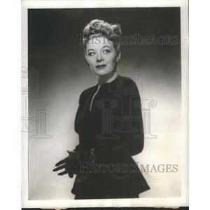 "1946 Press Photo Rita LaRoy Promotes ""Lady Be Beautiful"" - RSC61349"