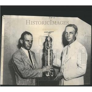 1931 Press Photo George D Logan St Louis Chamber Commerce Vice Chairman