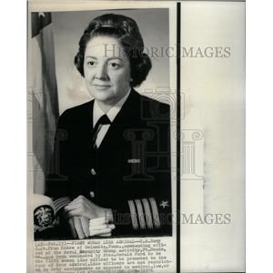 1976 Press Photo U.S. NAVY CAPTAIN FRAN MCKEE - RRX29081