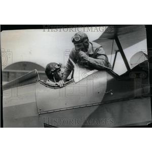 Press Photo Kaiser Grandson Aviation License prince - RRU23315