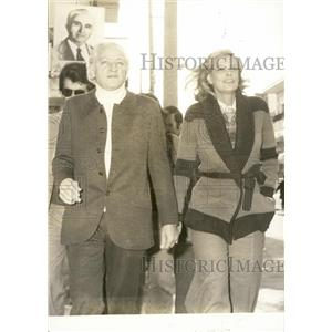 1974 Press Photo Melina Mercouri and Jules Dassin