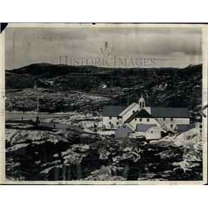 1925 Press Photo Last Stop on MacMillan Arctic Expedition - XXB06407
