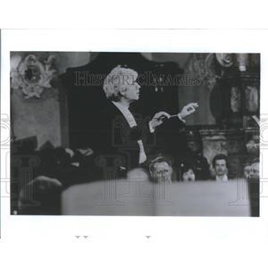1992 Press Photo Conductor Helmuth Billing Ravlnta Festival Orchestra