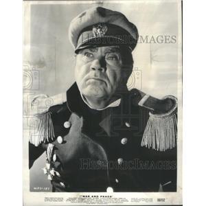 1956 Press Photo Oscar Homolka War And Peace Actor - RSC78329