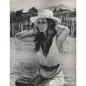 """1971 Press Photo Danielle De Metz in """"Raid on Rommel"""""""