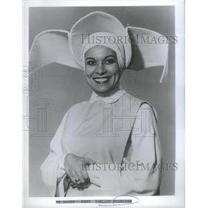"Press Photo Actress Shelley Morrison as Sister Sixto on Sitcom ""The Flying Nun"""