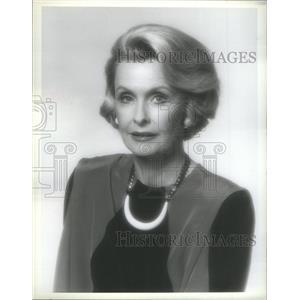 1984 Press Photo Dina Merrill/Actress/Heiress/Socialite - RSC77481