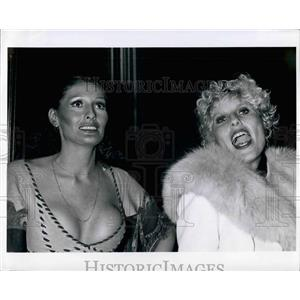 "1974 Press Photo Actresses at ""The Great Gatsby"" premiere - KSB32017"