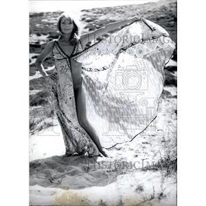 1971 Press Photo West-German actress Christine Schuberth - KSB23485