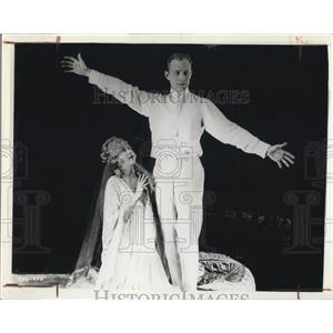 1934 Copy of 1920 Press Photo Unseen Forces Film Conrad Nagel Dorothy Dalton