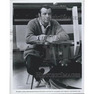 Press Photo Walter Matthau Actor Scene Pete N Tillie Comedy Drama Movie Film